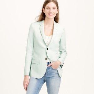J. Crew Ludlow mint green blazer